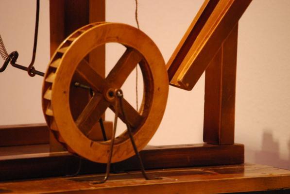 Leonardo da vinci il genio e le macchine palazzo della for Invenzioni di leonardo da vinci