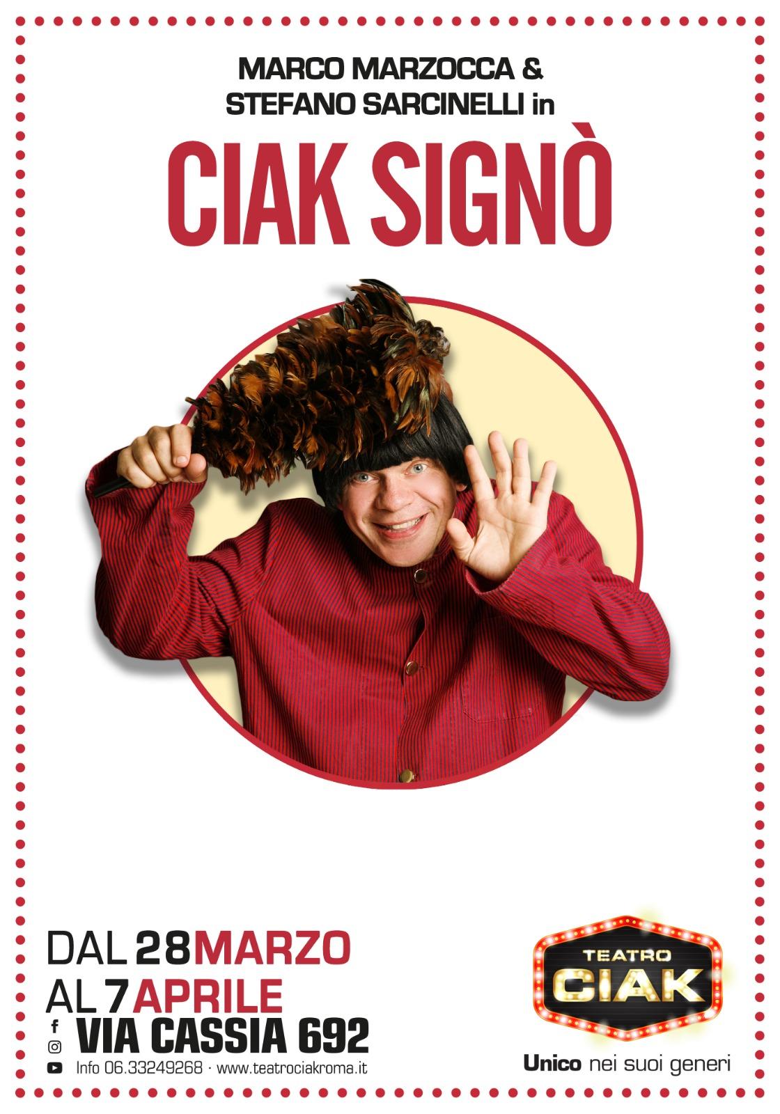 CIAK SIGNÒ